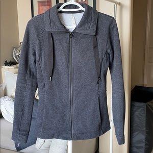 Grey Fleece Lululemon Sweater